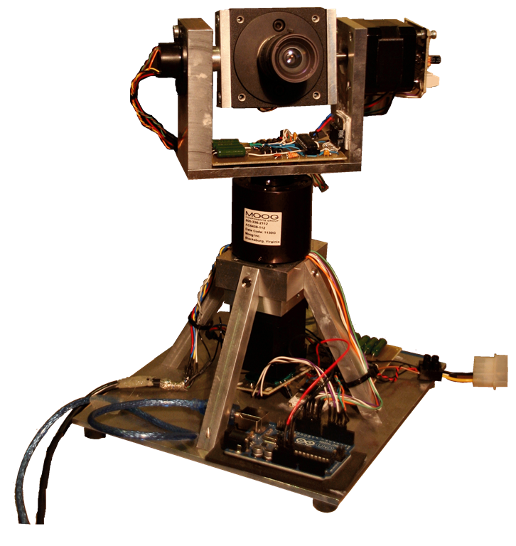 Design Of A 2 Axis Continuous Rotation Camera Control