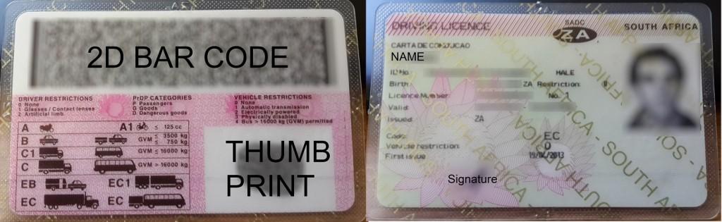 SA Driver's Licence