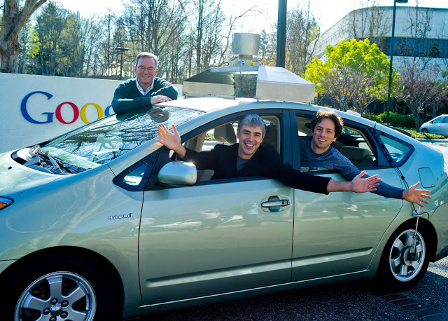 Google Self-driving test vehicle - google.com/press