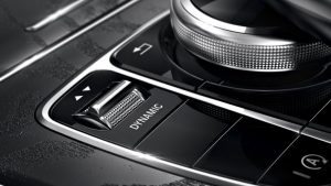 Driving mode selector (source: Mercedes-Benz)