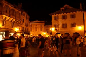 Domodossola at night